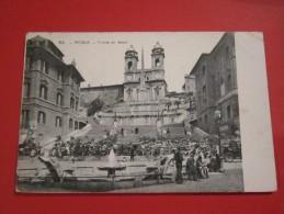 Roma Rome Trinita De Monti - Roma (Rome)