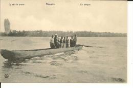 CONGO    BABANA   EN PIROGUE - Congo Belga - Altri