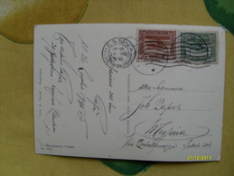 1936 Affrancatura Per 20 Cent. N.2 Francobolli:15 Verde + 5 Bruno Serie Definitiva - Somalia