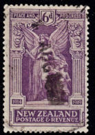 B0082 NEW ZEALAND 1920, SG 457 6d Victory, Used - Used Stamps