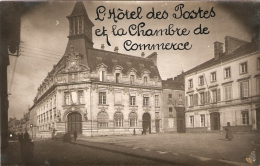 ANCIENNE PHOTO  ALENCON / HOTEL DES POSTES ET CHAMBRE DE COMMERCE - Alencon