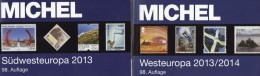 MICHEL Part 2+6 Stamps Europe Catalogue 2013/2014 New 120€ W-Europa UK EIRE B N Lux SW-EU Andorra E F Gibraltar P MONACO - Collections
