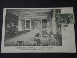PARIS - ASSEMBLEE NATIONALE - La Salle Marengo Où S´opère Le Dépouillement Du Scrutin - Voyagée Le 13 Juin 1924 - Frankrijk