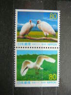 Japan 1999 2712/3D (Mi.Nr.) **  MNH #Pair Birds - Unused Stamps