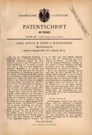 Original Patentschrift - Carl Runge In Kirchohsen B. Emmerthal , 1886 , Melkmaschine , Melken , Milch , Landwirtschaft ! - Maschinen