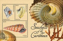 GRENADA 3871  MINT N.H  ; IGPC 1220 SH ( SEA SHELLS - Grenada (1974-...)