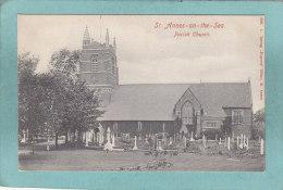 St.  ANNES - ON - THE - SEA  -  PARIS  CHURCH  -  BELLE CARTE  - - Inghilterra