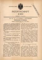 Original Patentschrift - Dr. Phil. Nat. A.H. Pareau In Rotterdam , 1886 , Meßmaschine Für Schuhmacher , Schuhe !!! - Machines