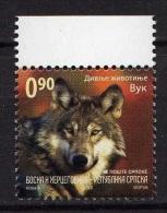 Bosnie 2010 - Loup - Briefmarken