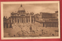 BIT-07 Roma Piazza E Basilica Di San Pietro. Non Circulé - Vatican