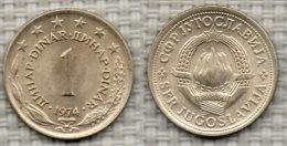 JUGOSLAVIA 1 Dinar 1974. # 2392. - Yougoslavie