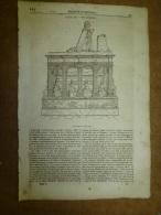 1er Mai 1834 MAGASIN UNIVERSEL : Louis XII;  Détroit Du Roi GEORGE; Les Bagnes ; Les Bazars D´ORIENT; Rochester - Kranten