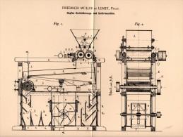 Original Patentschrift - F. Müller In Ulmet I. Pfalz ,1894, Hopfen - Sortiermaschine , Bier , Brauerei , Alkohol , Kusel - Maschinen