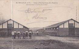 MILLY  Camp D' Instruction Des Zouaves Cantonnement à La Gare De Corbeil - Milly La Foret
