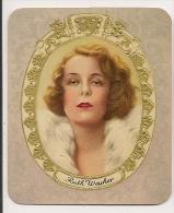 Ruth Weyher. N° 253. Image 1935 Cigarette Kur Mark. Cigaretten Card Actrice Star Cinéma - Cigarette Cards