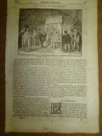 15 Mai 1834 MAGASIN UNIVERSEL : Les Hottentots D´Afrique; Végétaux Du Globe; Les Comètes; Château D´ANET - Kranten