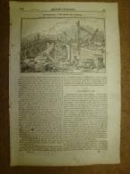 22 Mai 1834 MAGASIN UNIVERSEL :Les Ponts De LONDRES; Comètes; Eglise De Saint-Maclou à ROUEN; Benvenuto Cellini - Kranten