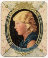 Ellen Braumüller. N° 210. Image 1935 Cigarette Kur Mark. Cigaretten Card Actrice Star Cinéma - Cigarette Cards