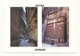 Cp, Jordanie, Petra, Multi-Vues, Voyagée