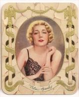 Vilma Banky. N° 171. Image 1935 Cigarette Kur Mark. Cigaretten Card Actrice Star Cinéma - Cigarettes