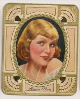 Anna Sten. N° 166. Image 1935 Cigarette Kur Mark. Cigaretten Card Actrice Star Cinéma - Cigarettes