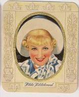 Hilde Hildebrand. N° 155. Image 1935 Cigarette Kur Mark. Cigaretten Card Actrice Star Cinéma - Cigarette Cards