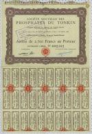 Phosphates Du Tonkin - Asie
