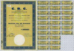 CBC à Boulogne Sur Seine Et Amiens - Industrie