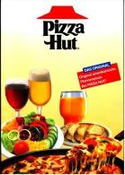 Speise- Und Getränkekarte Von Pizza Hut Ca. 1995 - Andere Sammlungen