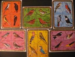 """Burundi 1970 ** MNH Cob PA154/177 En Bloc De 4  """" Oiseaux / Birds """"  Cat: 85,00 Euro - Burundi"""