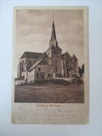 Feldpost 1. WK Frankreich Kirche Zu St. Erme 13.10.1915 Echt Gelaufen Ordentlicher Zustand - Francia