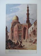 AK / Künstlerkarte Moschee Kait-Bey In Kairo 1910 Echt Gelaufen Nach Wien Und Guter Zustand!! - Kairo
