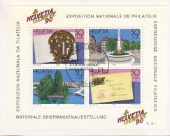 Deux (2) Blocs-feuillts De 1987 & 1990 / Tourisme & Exposition Nationale De Philatélie - Blocchi & Foglietti
