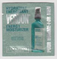 Energy Moisturizer - Verdon - L´Occitane - For Men - 1.5 Ml - Schoonheidsproducten