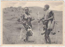 19997g CONGO - BELGE - ETHNOGRAPHIQUE - KIVU - BANYA-BONGO - 15x10.5c - Seins Nus - Congo Belge - Autres