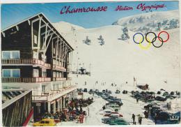 Cpsm  38 Isere Chanrousse  Station Oympique  Le Centre De La Station - Chamrousse