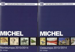 MICHEL Part 5+7 Stamp Europa Catalogue 2014 New 120€ North-Europe DK FL Est Lt East-EU Moldawia Polska Russia SU Ukraine - Allemagne