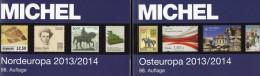 MICHEL Band 5+7 Stamps Europa Catalogue 2014 Neu 120€ Nordeuropa DK FL Est Lt N Ost-EU Moldawia Polska Russia SU Ukraine - Oude Documenten