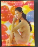NUDO Stereoscopico JAPANESE GIRL Cartolina Numero 6  Formato Grande Non Viaggiata - Stereoscopic Views