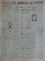 87 - LIMOGES-COURRIER DU CENTRE- GUERRE 1939-1945- LUFTWAFFE ANGLETERRE-COMTE TELEKI -4 -4- 1941-YOUGOSLAVIE-BENGHAZI - - Historische Dokumente