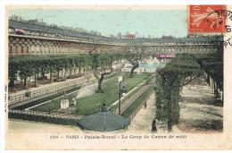 Paris :jardins Du Palais Royal, Coup De Canon De Midi - Parks, Gardens