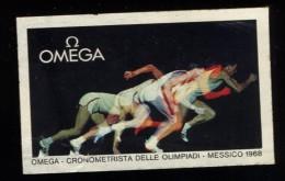 MESSICO   1968  OMEGA    OLIMPIC OLIMPIADI  OLIMPIQUE     ERINNOFILO  ERINNOPHILIE  CHIUDILETTERA   Envelope - Erinnophilie