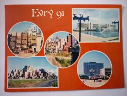 Evry ( 91 ) Multivue - La Ville Nouvelle - Evry