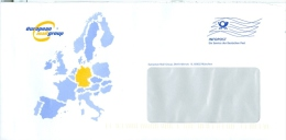 BRD München Infopost FRW Blau European Mail Group Europa-Karte - European Ideas