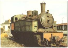 Dépt 29 - CARHAIX-PLOUGUER - Locomotive De 1913 (avant Restauration) 030 030 MALLET Réseau Breton - (train) - Carhaix-Plouguer