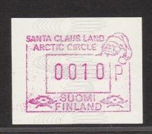 ATM: Finland 1990 Mi.9 10p  - Mint/** (M1-18) - ATM - Frama (labels)