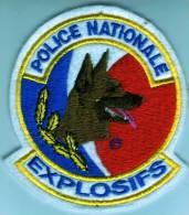 Ecusson Police Nationale EXPLOSIFS - Police & Gendarmerie