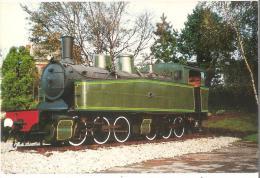 Dépt 29 - CARHAIX-PLOUGUER - Locomotive (après Restauration) MALLET 030 030 Du Réseau Breton (1913-1967) - Train - Carhaix-Plouguer
