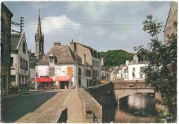 Dépt 29 - PONT-AVEN - (CPSM 10.5x15cm) - Vue Générale Sur Le Pont Et L'Église - Pont Aven