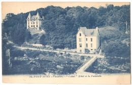 """Dépt 29 - PONT-AVEN - """"Castel"""", Hôtel Et La Passerelle - Pont Aven"""